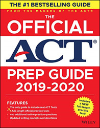 The Official ACT Prep Guide 2019-2020 Book + 5 Practice Tests + Online Content