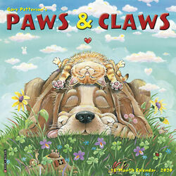 Gary Patterson's Paws n Claws 2020 Wall Calendar by Willow Creek Press