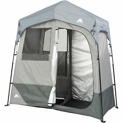 Ozark Trail 2-Room Camping Instant ShowerUtility Shelter Outdoo