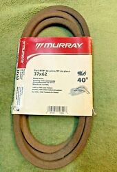 MURRAY OEM 40quot; TRACTOR DECK BELT 37x62 37X62MA FOR RIDERS BUILT 1989 2005 $12.99
