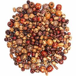 Royal Legit +x 500 Wooden Beads For Jewelry Making Adults Painted Assorted