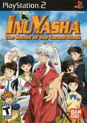 Inuyasha: The Secret of the Cursed Mask - Playstation 2 Game Complete