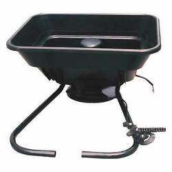 Field Tuff 12V ATV 80 Pound Load Capacity Broadcast Seed and Fertilizer Spreader $127.09