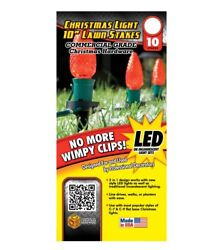 Commercial Christmas Hardware 9140 99 5638 Christmas Light Lawn Stakes Nylon B