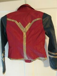 She Universe Wonder Woman Faux Leather Jacket! #GirlPower