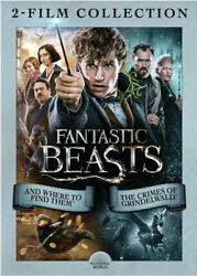 Fantastic Beasts: 2 Film Collection New DVD 2 Pack Eco Amaray Case $14.03