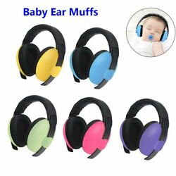 Baby Safety Ear Muffs Noise Cancelling Headphones For Kids Hearing Protection US