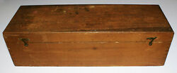 Antique Wooden Dovetailed Box Made to Hold 52 Standard Magic Lantern Slides 14