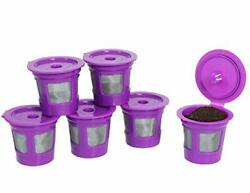 Perfect Pod Cafe Save 6Pk Reusable Refillable K Cup Kcup Coffee Pods for Keurig $9.99