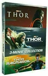 Thor 1-3 Como Pack (DVD 2018 - 3 Movie Collection) New & Sealed FREE Shipping
