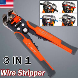 3 IN 1 Multifunctional Cable Wire StripperCutterCrimper Plier Terminal Tool US $11.99