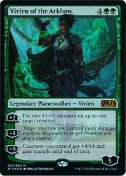 Vivien of the Arkbow 301280 - Foil Planeswalker Deck Exclusive Near Mint 7YR