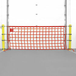 Existing Bollard Ring Safety Net Package 4ft x 22ft Net 8.75 to 9.625in Rings
