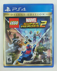 LEGO Marvel Super Heroes 2 Deluxe Edition (Playstation 4 2017) PS4 Near Mint
