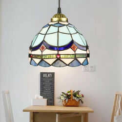 Tiffany Style Stained Glass Ceiling Pendant Light Fixture Single Hanging Lamp $44.99