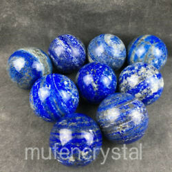 3PC Natural Lapis lazuli jasper sphere quartz crystal ball healing  sx72