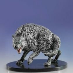 WINTER WOLF NM without Card  Dungeons and Dragons Miniatures (painted) D