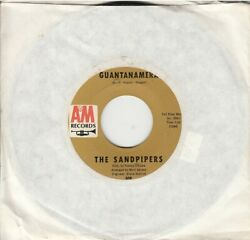 The Sandpipers Guantanamera bw What Makes You Dream 45-rpm Record VG Vinyl
