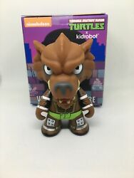 Kidrobot Teenage Mutant Ninja Turtles Shell Shock Vinyl Series Figure Rahzar