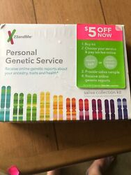 23andMe Personal Genetic DNA Saliva Kit Ancestry Lab Fee Not Included