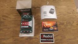 Radial JDI Stereo Passive Direct Box Mint Condition