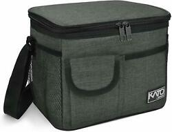 Insulated Meal Prep Lunch Bag Leakproof Thermal Reusable Lunch Box for Adult