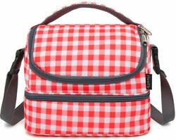 Insulated Meal Prep Lunch Bag With Adjustable Strap Lunch Box Large Tote