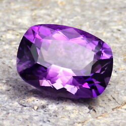 AMETHYST-BRAZIL 10.09Ct CLARITY SI1 PERFECT GERMAN FACETING VIDEO! $169.00
