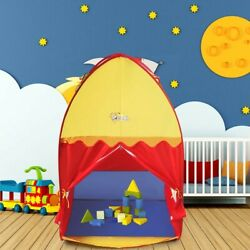 Portable Baby Play Tent Playhouse Castle House Kids Toy Bedroom Camping Funny US