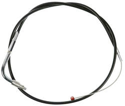 Barnett Push Idle Cable wCC Black #112617 Harley Davidson
