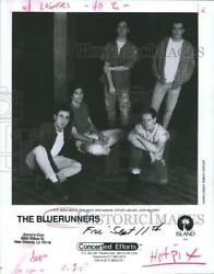 1992 Press Photo The Bluerunners to perform at Jimmy's Club Friday Sept. 11