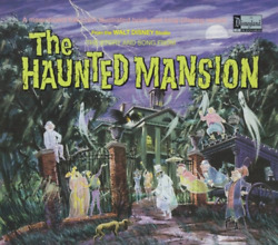 The Story And Song From The Haunted Mansion Walt Disney Records Audio CD 1 Disc