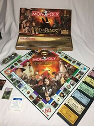 2005 Monopoly The Lord Of The Rings Collector's Edition missing instructions