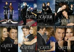 CASTLE the Complete Series on DVD Seasons 1-8 - Season NEW Free shipping