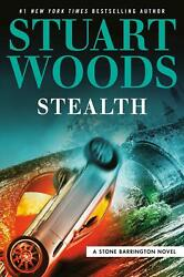 Stealth by Stuart Woods (English) Hardcover Book Free Shipping!