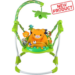 Baby Jumper 10 Activity Sensory Play Toy Seat Bouncer Infant Exerciser Center $67.68