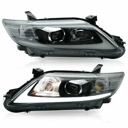 Customized LED Headlights with DRL Sequential Turn Signal for 10-11 Toyota Camry $300.77