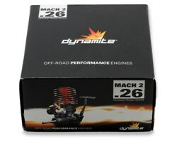 Dynamite Mach 2 quot;Truggyquot; .26 With Pull Spin Start Combo Nitro RC Engine DYN0990 $139.99