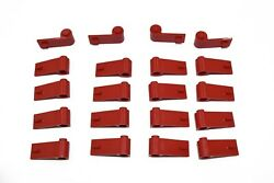 20 NEW LEGO RED CAR DOORS 1x3x1 10 Sets left right 3821 3822 vehicle pair lot $5.99
