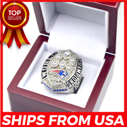 FROM USA- Super Bowl LIII Ring 2018 2019 OFFICIAL New England Patriots Champions
