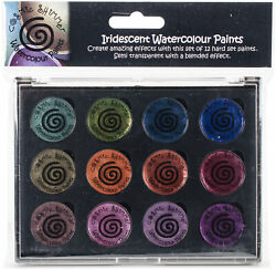 Cosmic Shimmer Iridescent Watercolor Palette Set 6 Antique Shades CSIWPST6 $18.93
