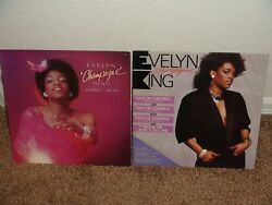 EVELYN CHAMPAGNE KING MUSIC BOX ALBUM AND OUT OF CONTROL SINGLE