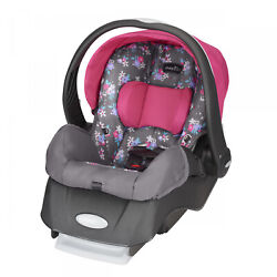 Infant Car Seat Rear Facing Fully Adjustable Monument 4 35 Lb Baby Support Gray $97.51