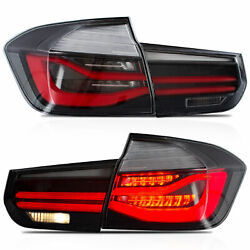 CLEAR LED Taillights Sequential Turn Sig for 12-18 BMW 3er 3 Series F30 F80 $305.77