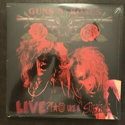 GUNS N  ROSES - LIVE LIKE A SUICIDE - BRAND NEW SEALED  COLORED VINYL LP RECORD