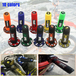 ATV Scooter Dirt Pit Bike 7 8quot; 22MM Hand Grips Rubber Handlebar 10 Colors $9.29