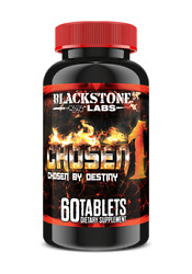 Blackstone Labs Chosen1 60ct  Build Lean Muscle Mass Without Adding Fat