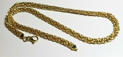Vintage In Seattle Lot#473 Italy 18K GP marked gorgeous necklace