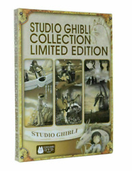 Studio Ghibli Collection Limited Edition 18 movie Miyazaki Films- 6 DVD *New*