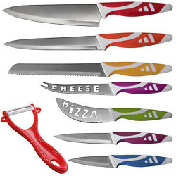 Professional Chef Knife Set Multi Use 8pc for Home Kitchen - Slice Cut $14.76